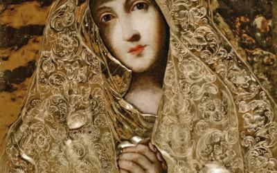 Matka Adorująca obraz Matki Bożej Sobieskich z wrocławskiej katedry