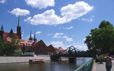 Most Tumski we Wrocławiu