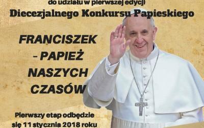 Franciszek – papież naszych czasów – konkurs