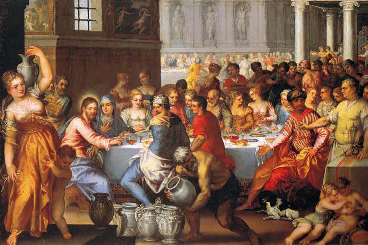 Adam i Ewa w raju. Bizantyjska mozaika z XII-XIII w. w katedrze Monreale, Włochy / WWW.THEREDLIST.COM