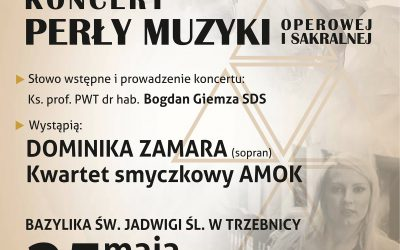 """Koncert """"Perły muzyki"""" w Trzebnicy"""