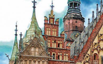 Kilka listów z Wrocławia polską ręką skreślonych