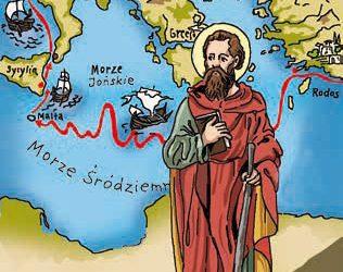 Święty Paweł – podróże misyjne