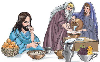Obiad Jezusa u faryzeusza