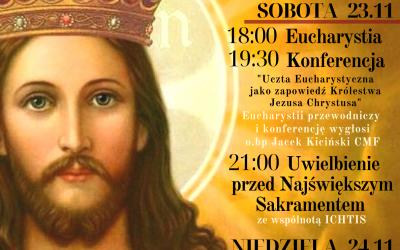 Uroczystości odpustowe ku czci Chrystusa Króla