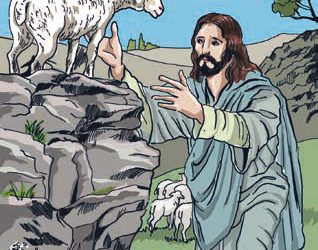 Zagubiona owca – przypowieść Jezusa