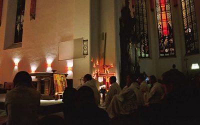 Modlitwa dziękczynna za Europejskie Spotkanie Młodych