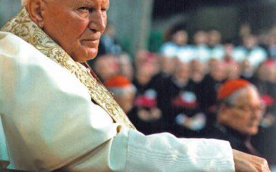 Jan Paweł II papież spraw ludzkich