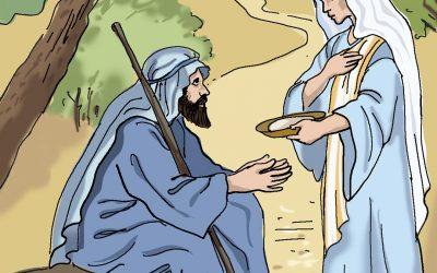 Eliasz i wdowa z Sarepty