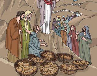 Jezus – nakarmienie wielkiej rzeszy