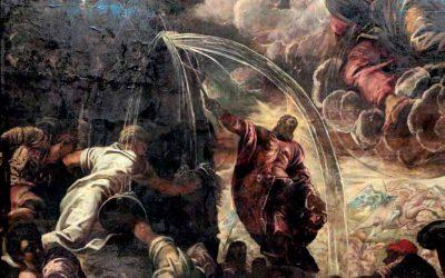 Woda ze skały zapowiedzią Eucharystii